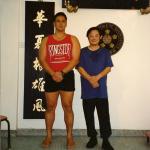 Sifu Wayde with Sifu Wong Leung